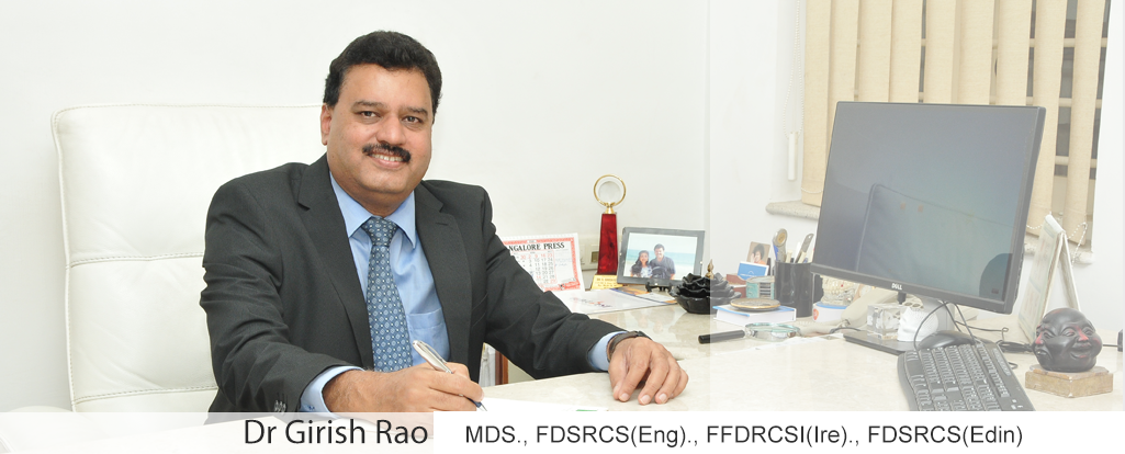 Dr Girish Rao, Maxillofacial Surgeon